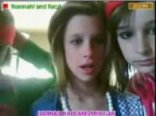 Hannah and lacy on stickam