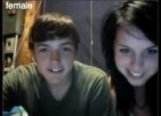 Tinychat caps couple masturbate