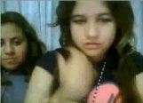 Two young girls on MSN