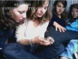 Four lesbians going crazy on webcam
