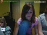 Stickam girl tits flashing near her friend
