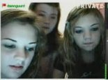 Four girls on Stickam damnguurrl01