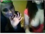 Two stickam whores plays for guys