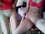 Two webcam models strip and bate on Myfreecams