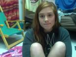 Shy cutie rubbing her clit on webcam