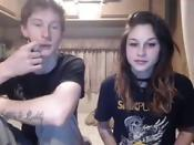 largecamtube Crazy couple sex on Skype