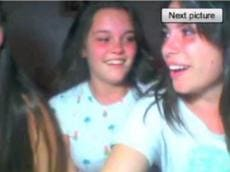 Three Chatroulette teens