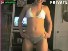 Stickam blonde striping and teasing