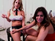 Webcam video - busty lesbians