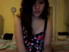 Curly Asian fingering on Imlive