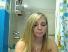 Myfreecams videos wet blonde in bathroom