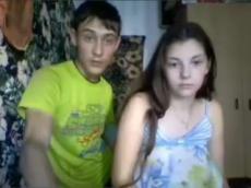 18yo Russian teen fuck on Skype sex chat